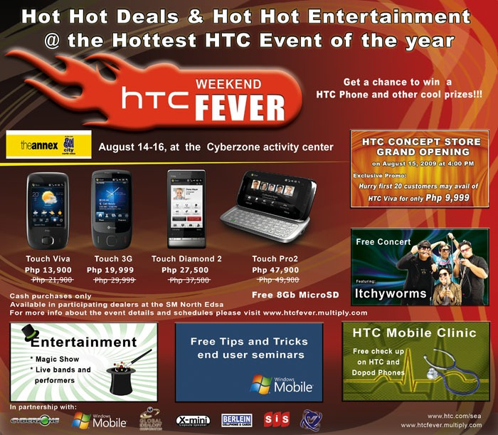HTC WEEKEND FEVER