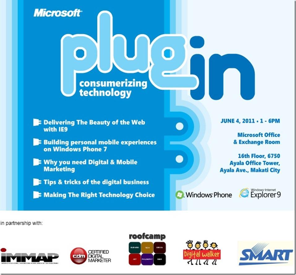 plug in (sponsors)
